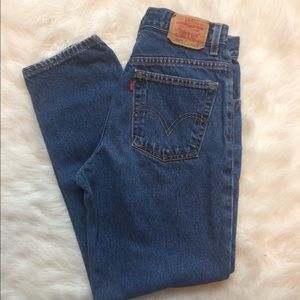 Levi's 550 Relaxed Fit Vintage Jeans
